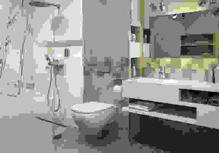 Kolekcja Optimal Nowoczesna łazienka od Ceramika Paradyż Nowoczesny