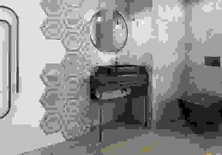Kolekcja Scratch Industrialna łazienka od Ceramika Paradyż Industrialny