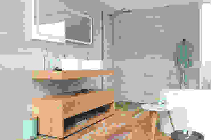 Kolekcja Segura Skandynawska łazienka od Ceramika Paradyż Skandynawski