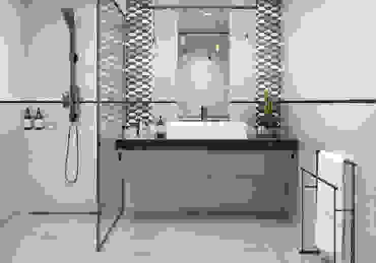 Kolekcja Orrios Nowoczesna łazienka od Ceramika Paradyż Nowoczesny