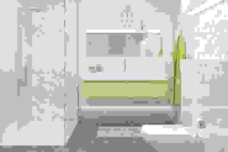 Kolekcja Tonnes Minimalistyczna łazienka od Ceramika Paradyż Minimalistyczny