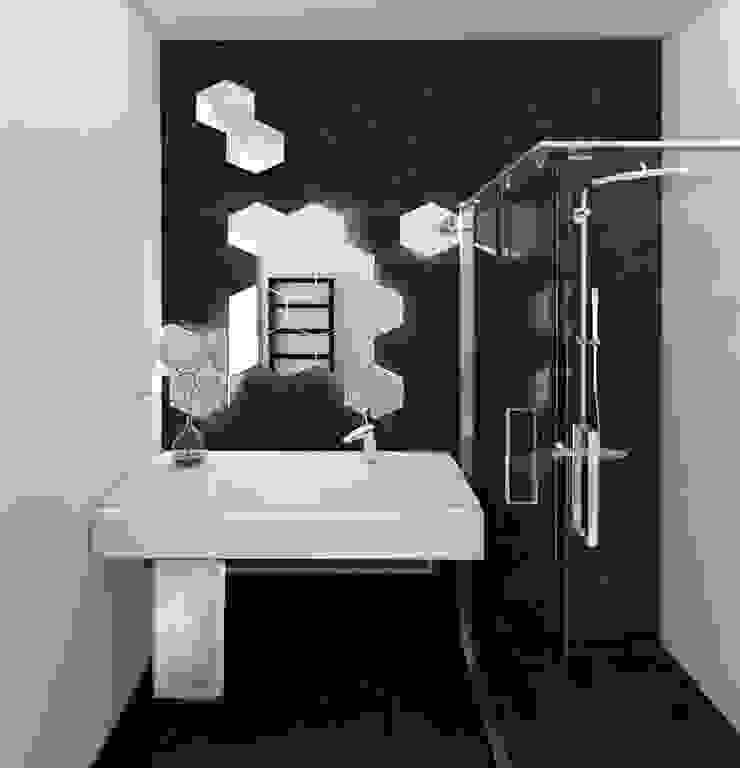 Scandinavian style bathroom by MFA Studio Sp z o.o. Scandinavian