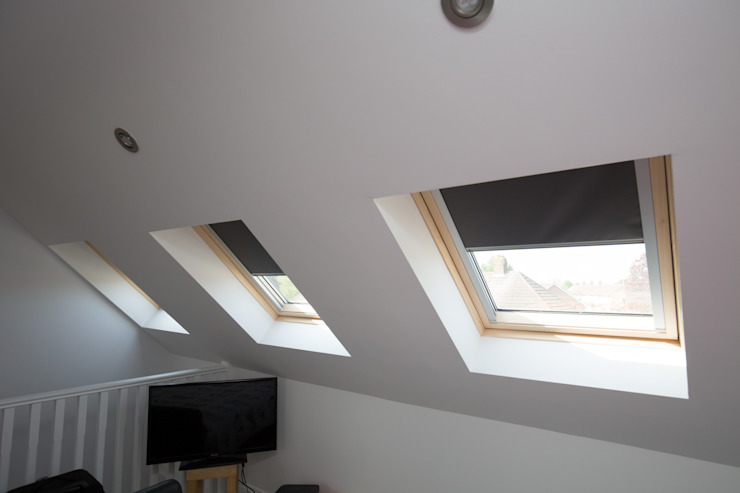 THE NORTHOLT LOFT CONVERSION Minimal style window and door by The Market Design & Build Minimalist