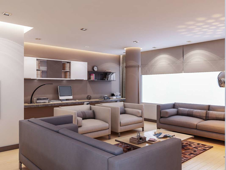 Living room by VERO CONCEPT MİMARLIK, Modern