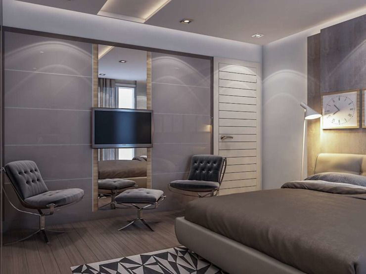 Bedroom by VERO CONCEPT MİMARLIK, Modern