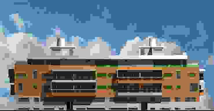 José Vitória Arquitectura Casas de estilo moderno