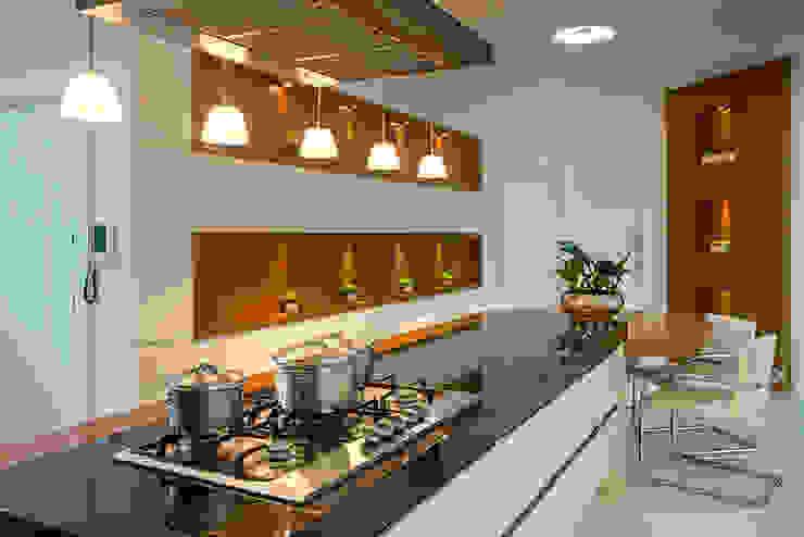 Cuisine moderne par Arquiteto Aquiles Nícolas Kílaris Moderne Marbre