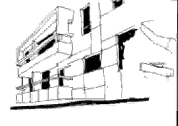 Casas modernas de José Vitória Arquitectura Moderno