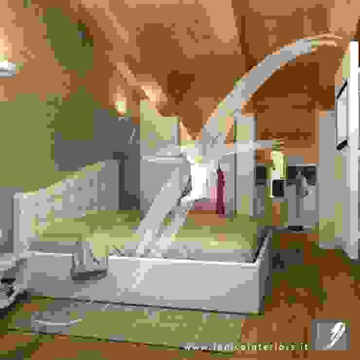 Villa AP Camera da letto moderna di Fenice Interiors Moderno