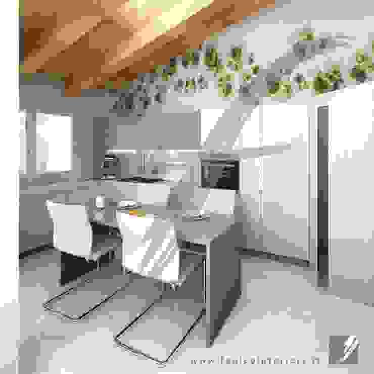 Villa AP Cucina moderna di Fenice Interiors Moderno