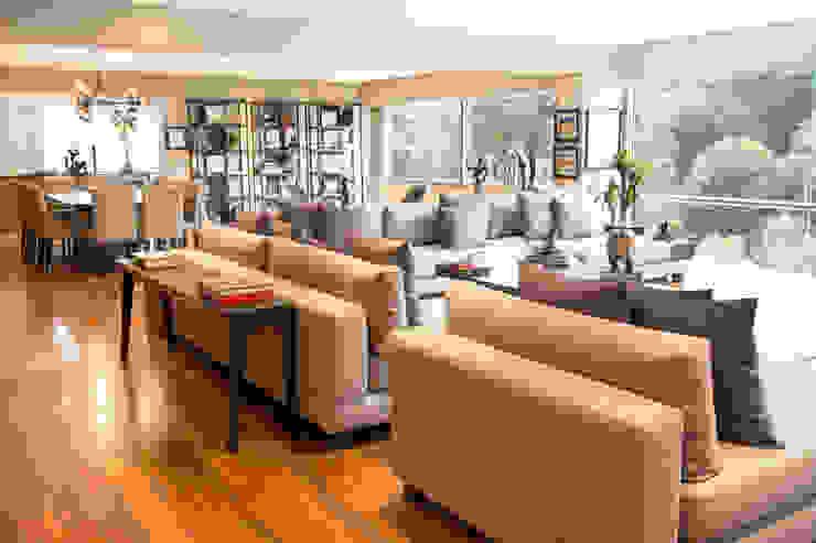 Departamento GS Salones modernos de Concepto Taller de Arquitectura Moderno