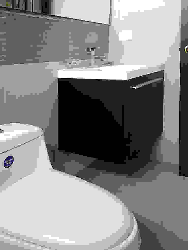 Reforma de baño Baños de estilo moderno de Remodelar Proyectos Integrales Moderno Cerámico