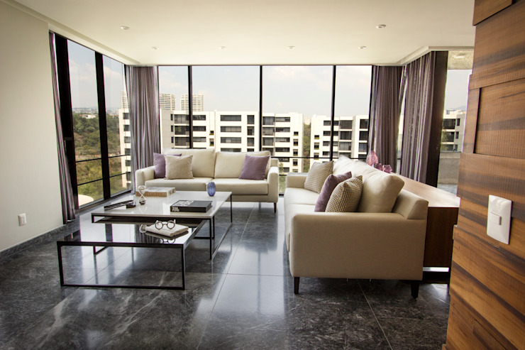 Livings modernos: Ideas, imágenes y decoración de Concepto Taller de Arquitectura Moderno