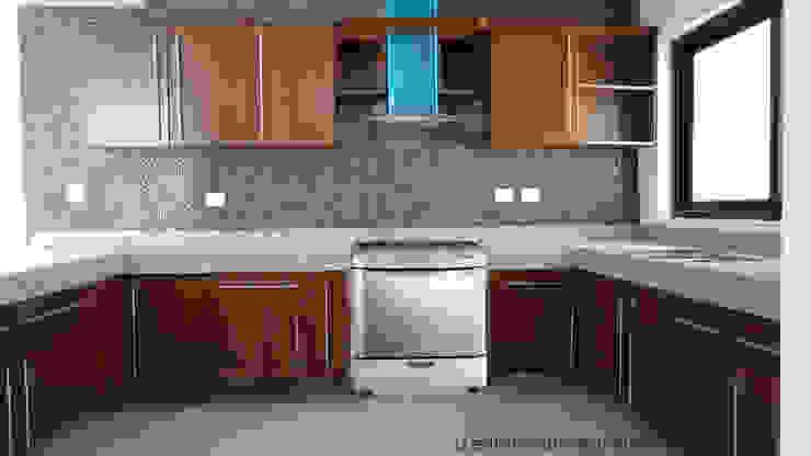 Cocina de Base cubica Arquitectos