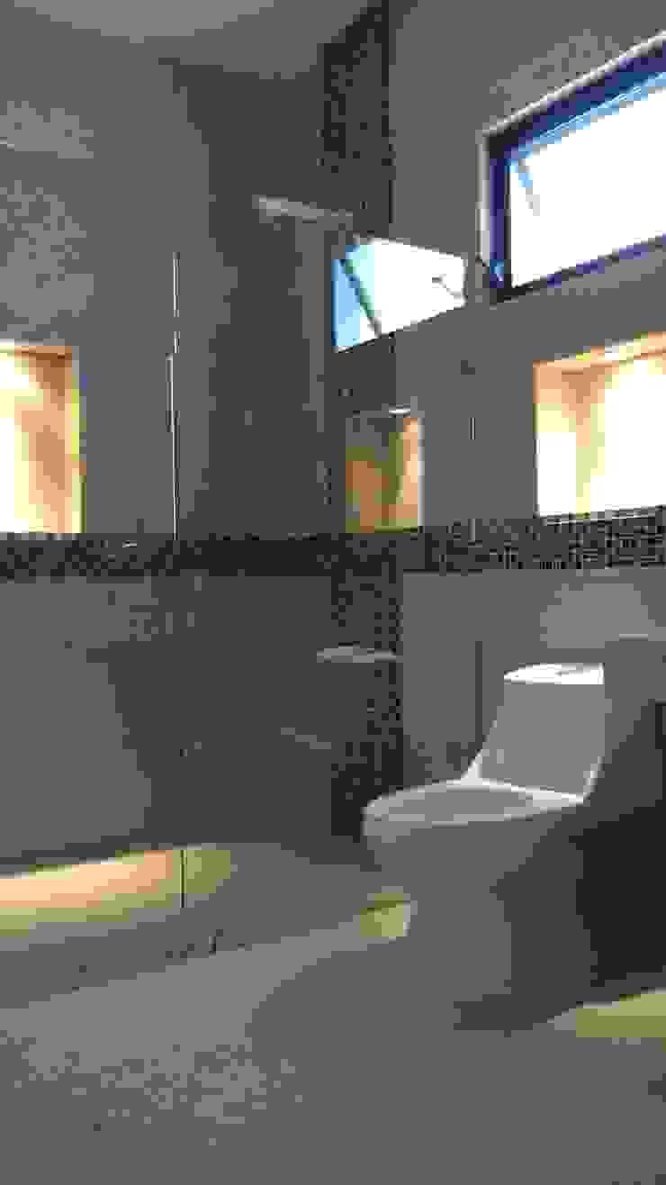 Baño de Base cubica Arquitectos