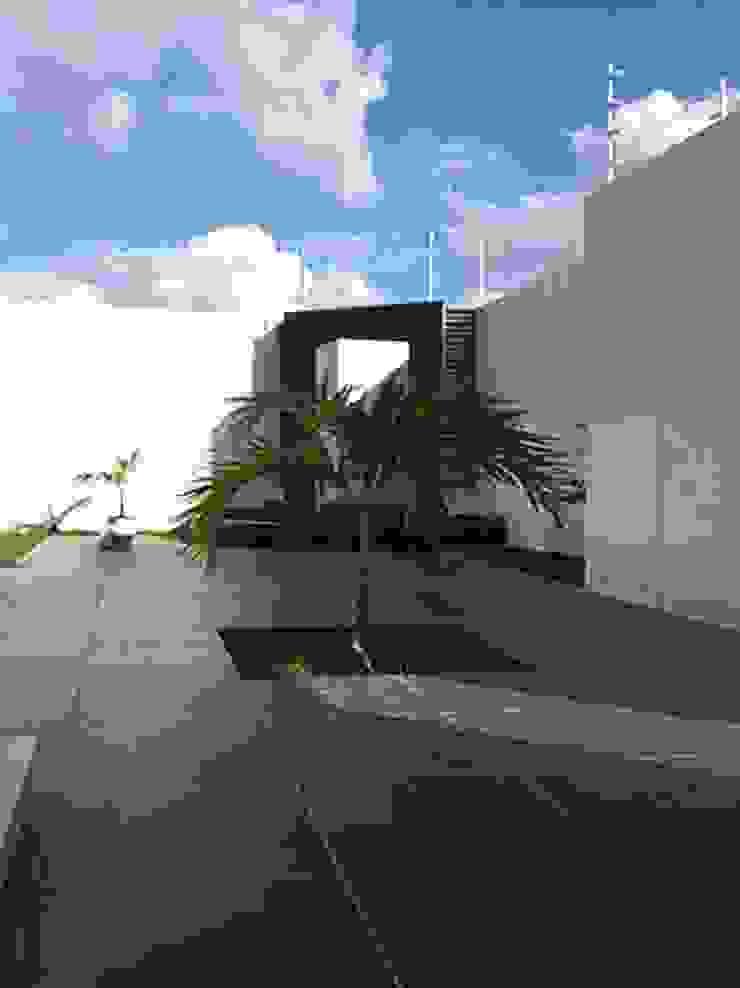 AD.GOGUE Jardines modernos de Base cubica Arquitectos Moderno