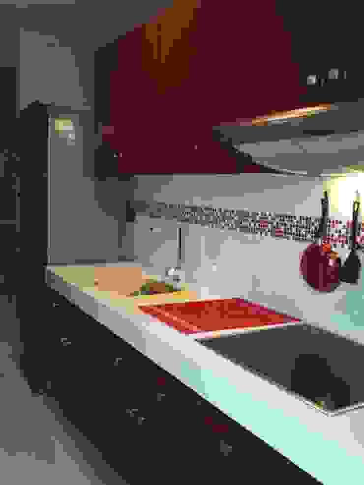 AD.GOGUE Cocinas modernas de Base cubica Arquitectos Moderno