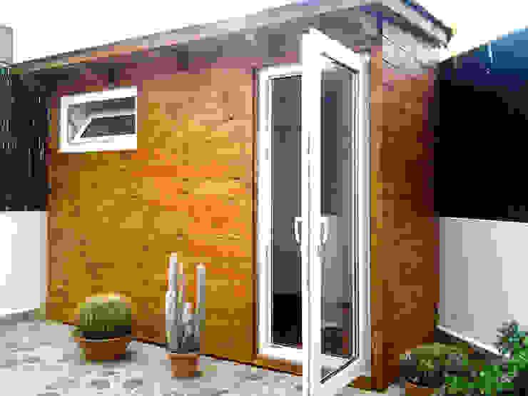 """Caseta insonorizada """"HOME STUDIO"""" Estudios y oficinas modernos de homify Moderno Madera Acabado en madera"""
