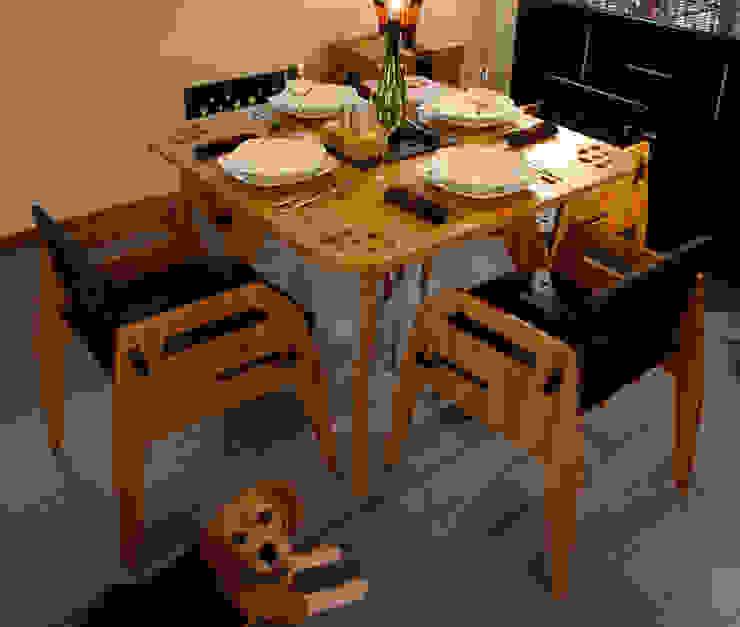 Comedor MayoCinco de Wedgewood Furniture Moderno Bambú Verde