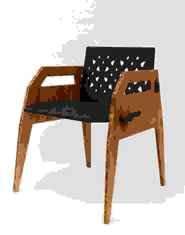 Silla MayoCinco de Wedgewood Furniture Moderno Bambú Verde