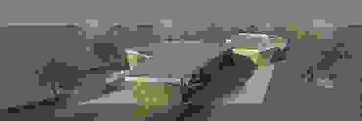 Restaurante e Bar - exterior 6 Espaços de restauração modernos por Atelier 12 Moderno