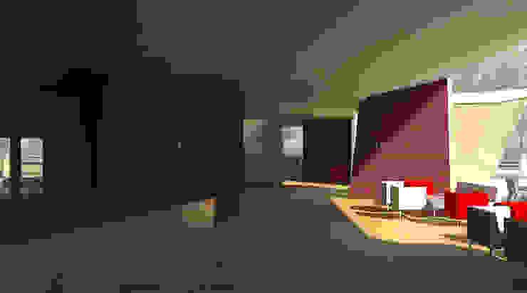Restaurante e Bar - interior 2 Espaços de restauração modernos por Atelier 12 Moderno