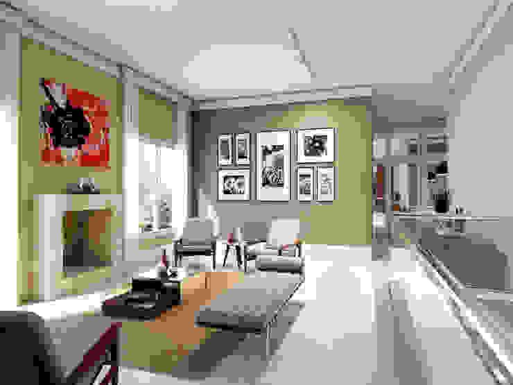 Living room by Lozí - Projeto e Obra, Modern