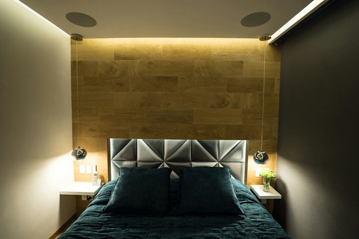 Modern style bedroom by HO arquitectura de interiores Modern