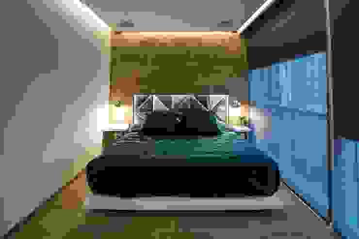 Dormitorios de estilo moderno de HO arquitectura de interiores Moderno