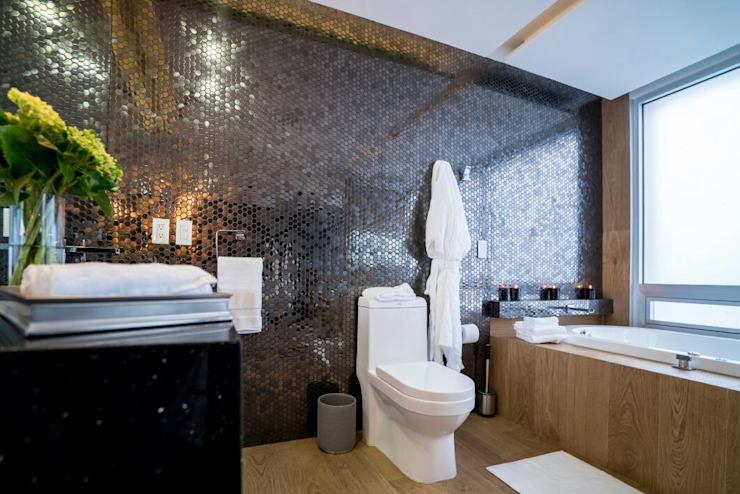 Baños de estilo moderno de HO arquitectura de interiores Moderno