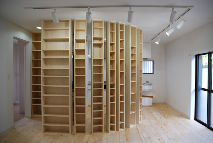 Salon moderne par homify Moderne Bois Effet bois