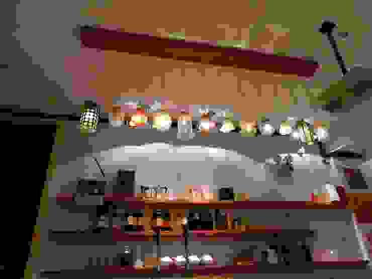 La Cafetera-Iluminación de la Barra 1en1arquitectos Restaurantes