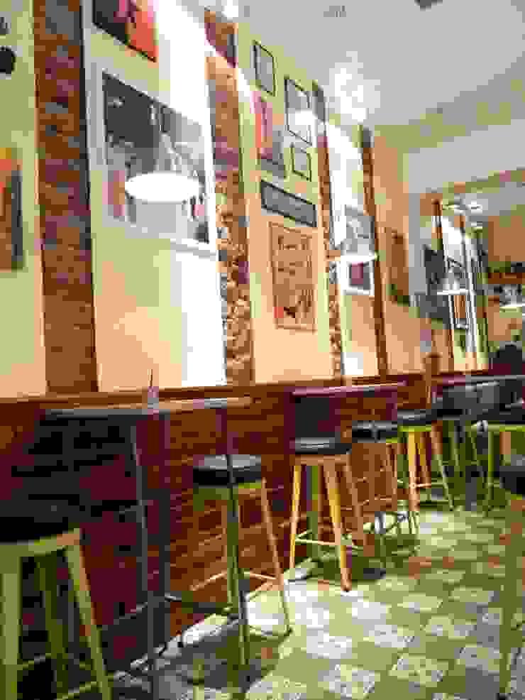 La Cafetera - Salón de 1en1arquitectos Ecléctico