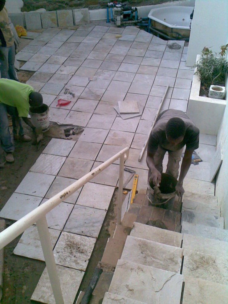 Gallery / Work in Progress Modern Garden by DRIFTWOOD INTERIORS & EXTERIORS Modern