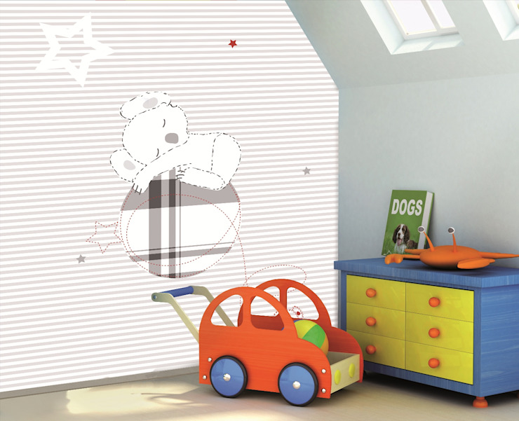 Bianchi Lecco srl Nursery/kid's roomAccessories & decoration Paper Grey