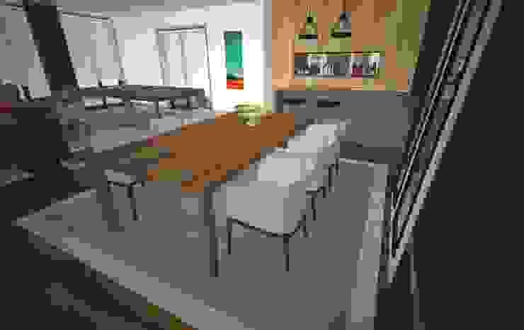 Sala Polivalente Salas de jantar modernas por Areabranca Moderno