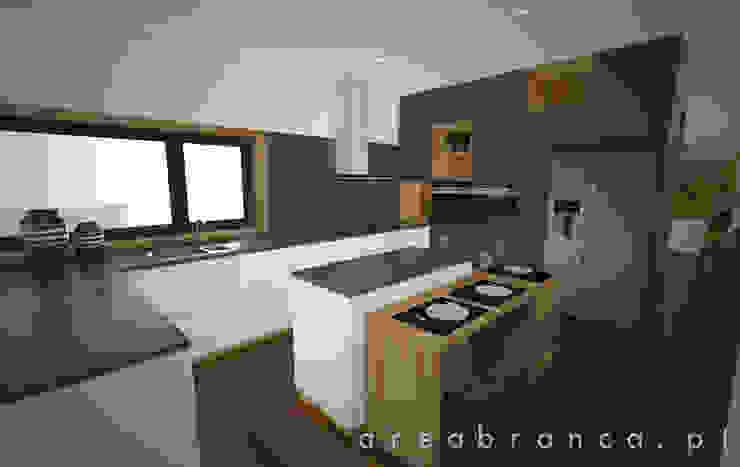 Sala e Cozinha Cozinhas modernas por Areabranca Moderno