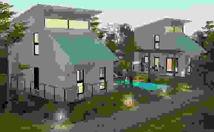 現代房屋設計點子、靈感 & 圖片 根據 FILIPPIS/DIP - DISEÑO Y CONSTRUCCION 現代風 金屬