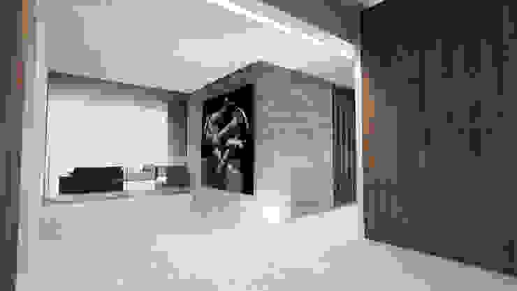 Modern corridor, hallway & stairs by ARRIVETZ & BELLE Modern