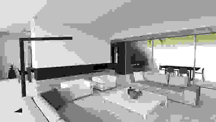 Salas de estar modernas por ARRIVETZ & BELLE Moderno