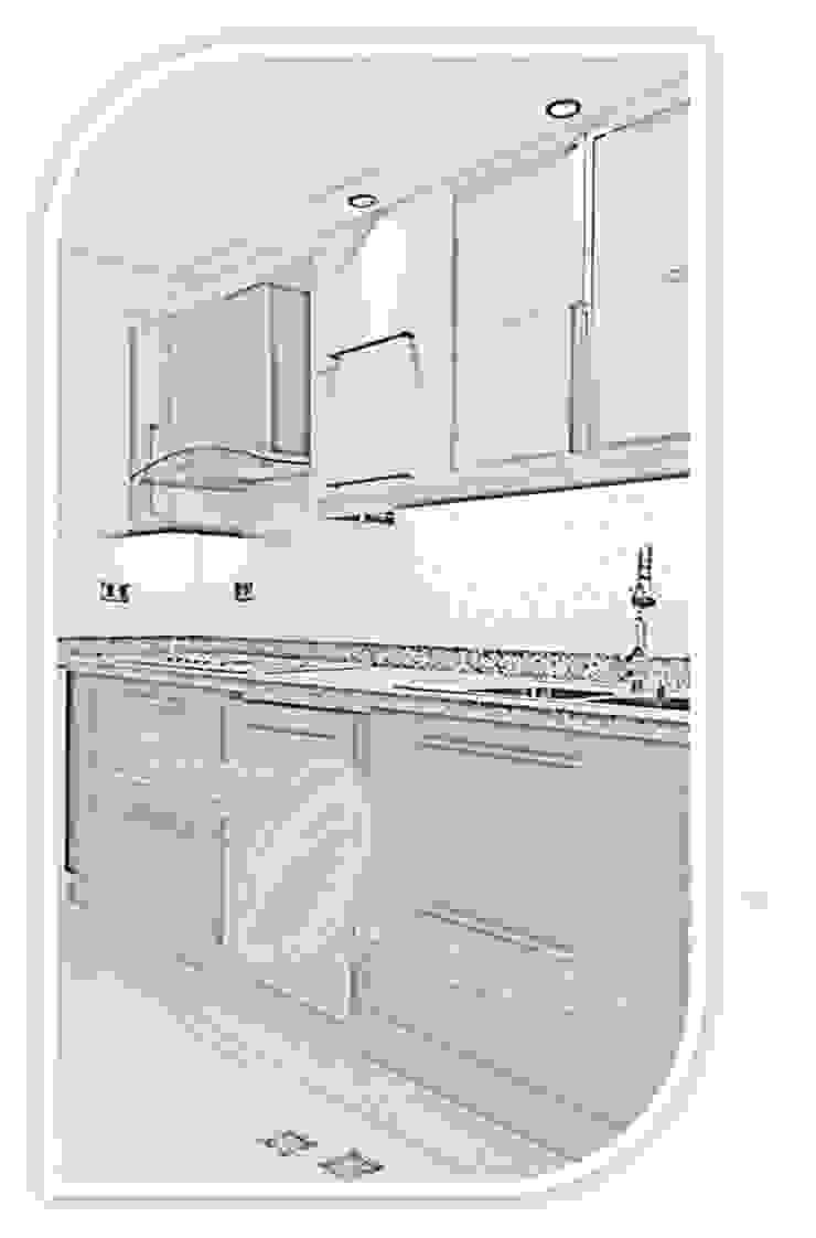 LINEA URBAN Cocinas de estilo moderno de GRUPO ORBITALMA Moderno Derivados de madera Transparente