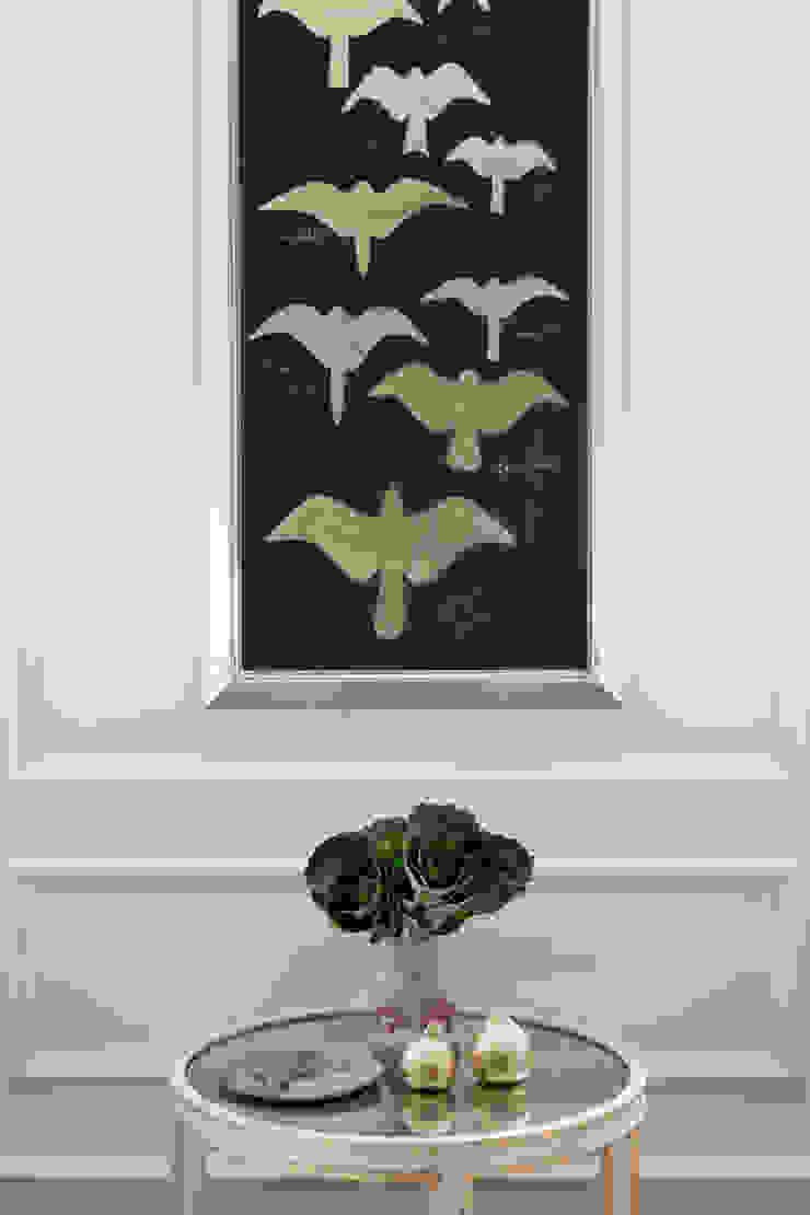 birds in flight artwork Mel McDaniel Design Living room