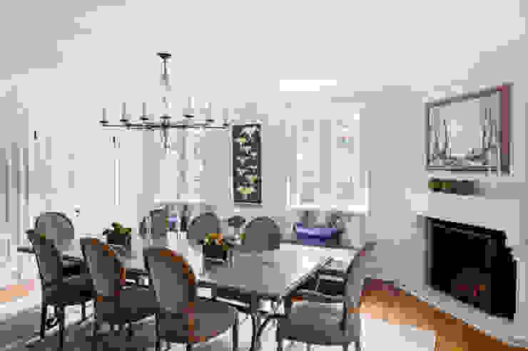 dining room Mel McDaniel Design Dining roomTables