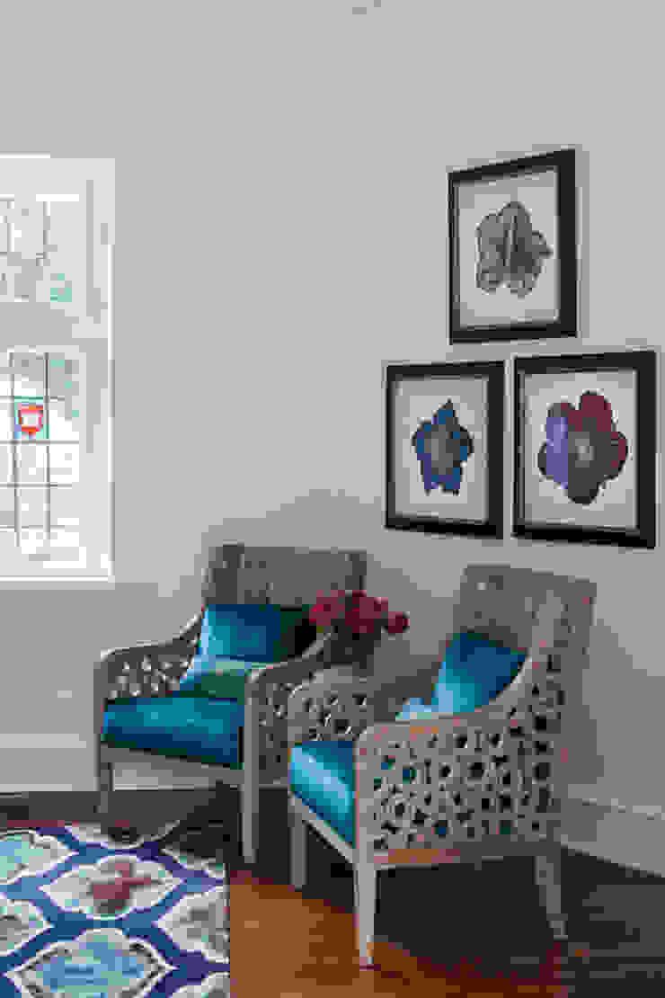 seating corner Mel McDaniel Design Living room