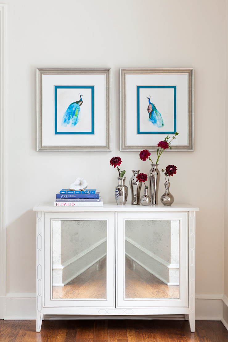 peacocks in blue Mel McDaniel Design ArtworkPictures & paintings