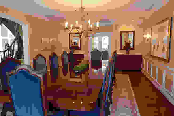 Klasik Yemek Odası Mel McDaniel Design Klasik