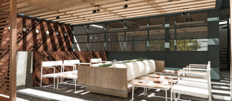 Modern offices & stores by PASQUINEL Studio Modern