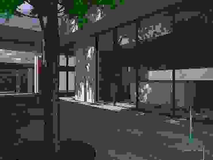 PO3 Casas minimalistas de Atelier U + M Minimalista Concreto