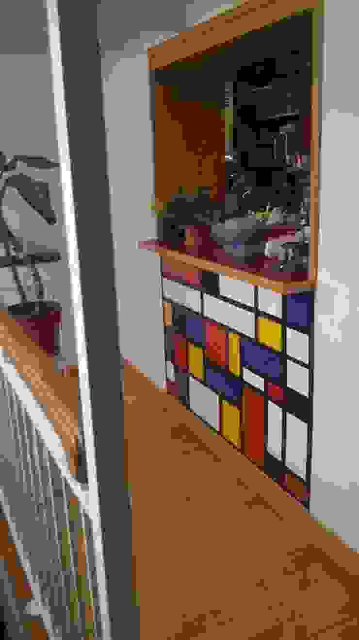 Mondrian de Vinilos Impacto Creativo Clásico
