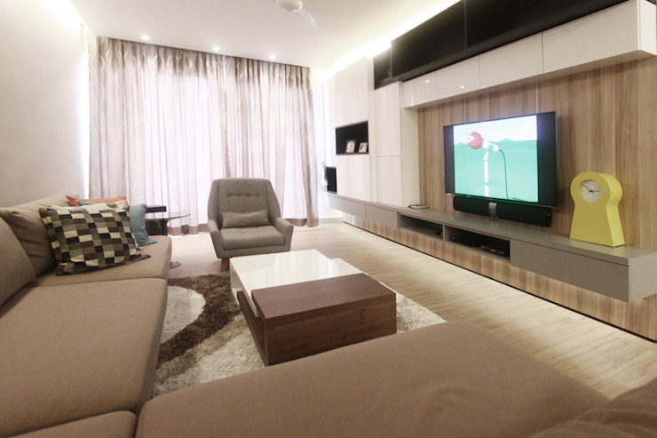 The Sanderson Home by inDfinity Design (M) SDN BHD Modern